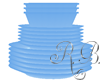 Blue Dishes Stack