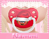 Kids christmas pacifier
