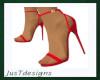 JT Red Strap Heels
