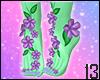 Earthy Foot Flowers