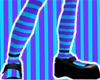[UnS]LiteDarkBHeel+Socks