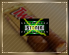 Stoner Collar Badge