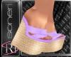 Mimi purple sandals
