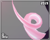 Rubber   Pink piggy tail
