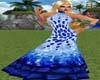 NOYA-White & Light Blue