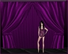 theatre pink curtain