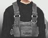 Black Sweater + Vest