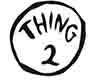 Thing2 Footy Pjs