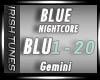 - Nightcore - Blue