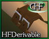 HFD 3D R WristCuff Brown