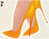 |L Orange Pumps