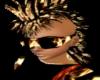 Raver flames goggles M&F