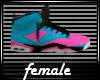 Jordan 6 Miami Blue/Pink