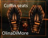 (OD) Coffin chat chairs