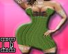 Green dress L*D
