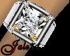 Silver&Diamonds Pinky Lf