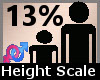 Height Scaler 13% F A