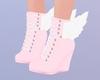 Daa! Wing Shoes Pinku