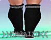 B! Sneakers Socks Black
