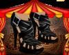 Black coach Heels