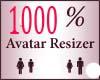 1000% Scaler Avatar Resi