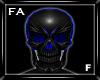 (FA)SkullMaskF Blue