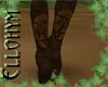 ~E- Sylvan Armor Boots F