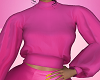 Pink Poet Sleeve Top