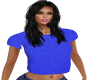 blue dazzle top