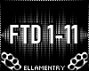 FTD 1-11 Difference