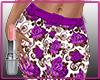 Skirt Roses Purple