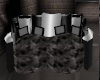cuddle couch black