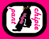 pant black chipie pink-F