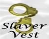 Slaver - Vest W/ Banner