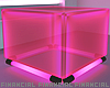 Neon Pink  Cube