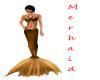 Gold Mermaid Skinny