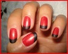 ^.Red & Black Nails.^