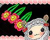 flower clip kids