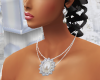 earings & necklace