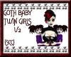 {SCC} Goth Twin Girls V2