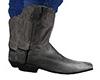 Gray Cowboy Boots (M)