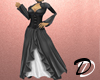 Victorian Dress (black)