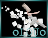 .L. Floating White Cubes