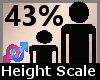 Height Scaler 43% F A
