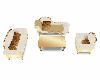 white/gold living RM