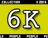6K Support Sticker
