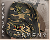[Is] Camo Backpack M