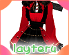 !red gothic dress