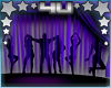 Club Silhouette Purple