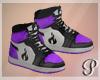 Devil Dolls Shoes Purple